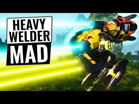 FASTEST POWER WELDER AROUND - Marauder IIC Build - Mechwarrior Online 2018 MWO
