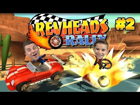Racing For The Championship Cup!! REV HEADS RALLY #2