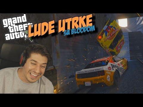 'PRESMIJEŠNE i PRELUDE UTRKE!!!'-Grand Theft Auto 5 - SMIJEŠNI TRENUTCI sa Bloodom