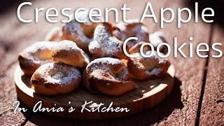 Crescent Apple Cookies - Rogaliki Z Jablkiem - Recipe # 218