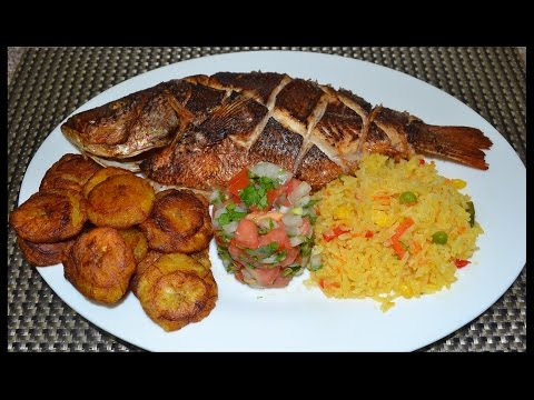 pescado frito y al horno. - Fried Fish