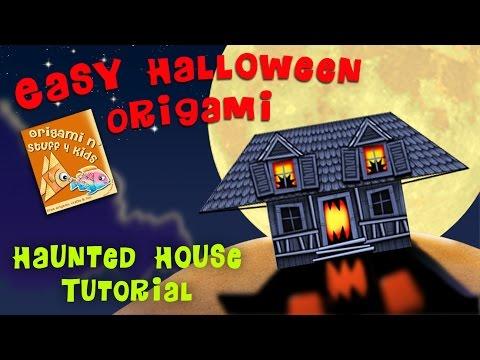 Haunted House Origami Tutorial