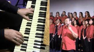 God gave Rock'n'Roll to you (KISS) - church organ, drums & choir (Chor, Kirchenorgel & Schlagzeug)