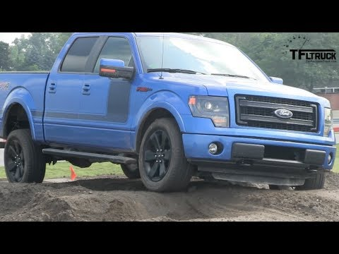2013 ford f 150 fx4 pickup off road performance test review youtube. Black Bedroom Furniture Sets. Home Design Ideas