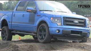 2013 Ford F-150 FX4 Pickup Off-Road Performance Test & Review