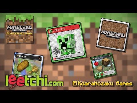 MINECARD - Astuces pour concevoir un jeux de société!