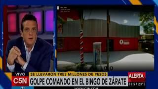 C5N - Policiales: Golpe comando en el bingo de Zárate