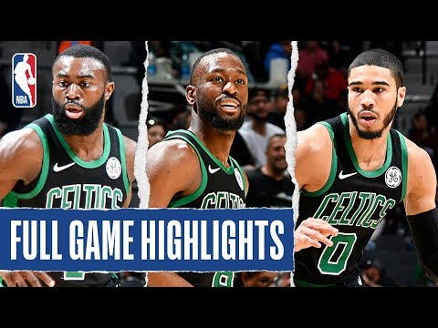 CELTICS at SPURS | FULL GAME HIGHLIGHTS | November 9, 2019