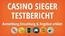 Casino Sieger Testbericht: Anmeldung & Einzahlung erklärt [4K]