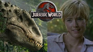 connectYoutube - Amanda Kirby Created the Indominus Rex - Jurassic World Theory