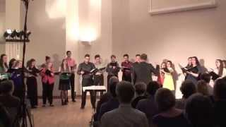 wade in the water new brunswick youth choir 2015