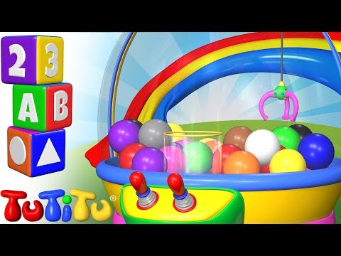 Crane Game - Learning Colors for Babies and Toddlers | TuTiTu Preschool