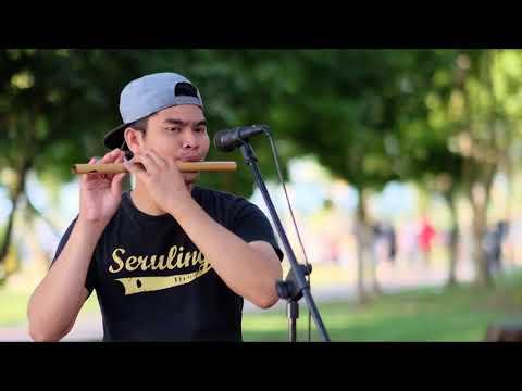 Suci Sekeping Hati - Saujana, Instrumental Seruling / Flute Cover by Marus Kamaruddin