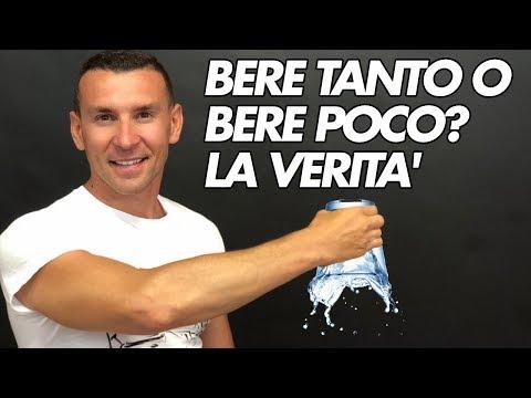BERE 2litri DI ACQUA NON SERVE A NULLA!  Video Mozzi Parere