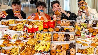 Who Can Gain The Most Weight Challenge - 100,000 Calories