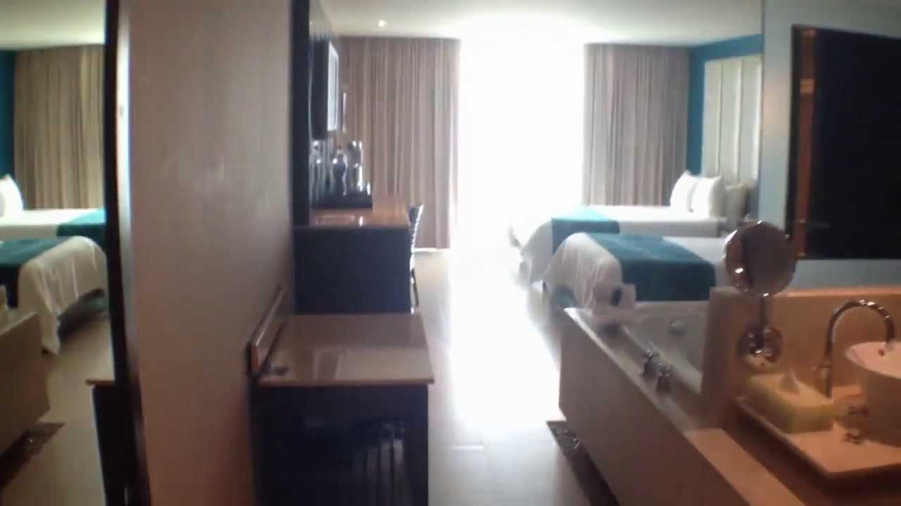 Hard Rock Cancun Resort Deluxe Gold Room Youtube