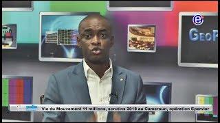 GEOPOLIS ENTRETIEN AVEC CABRAL LIBII ÉQUINOXE TV DU 25 MARS 2018