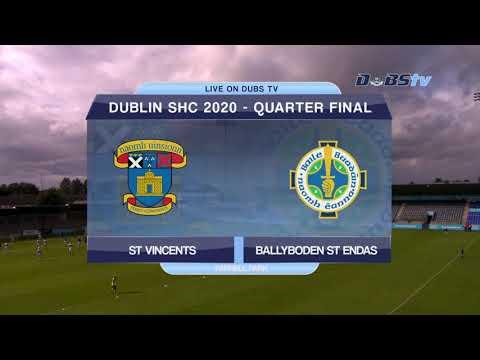 Ballyboden St Endas v St Vincents- 2020 Dublin Senior A Hurling Championship Quarter Final