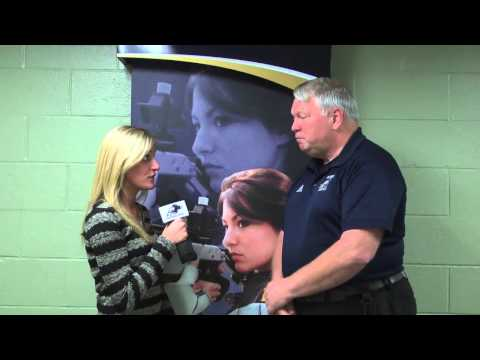 Rifle with Head Coach Newt Engle