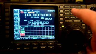 quick split function on the icom ic 756pro