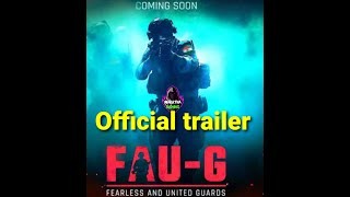New Indian online game FAU-G official trailer