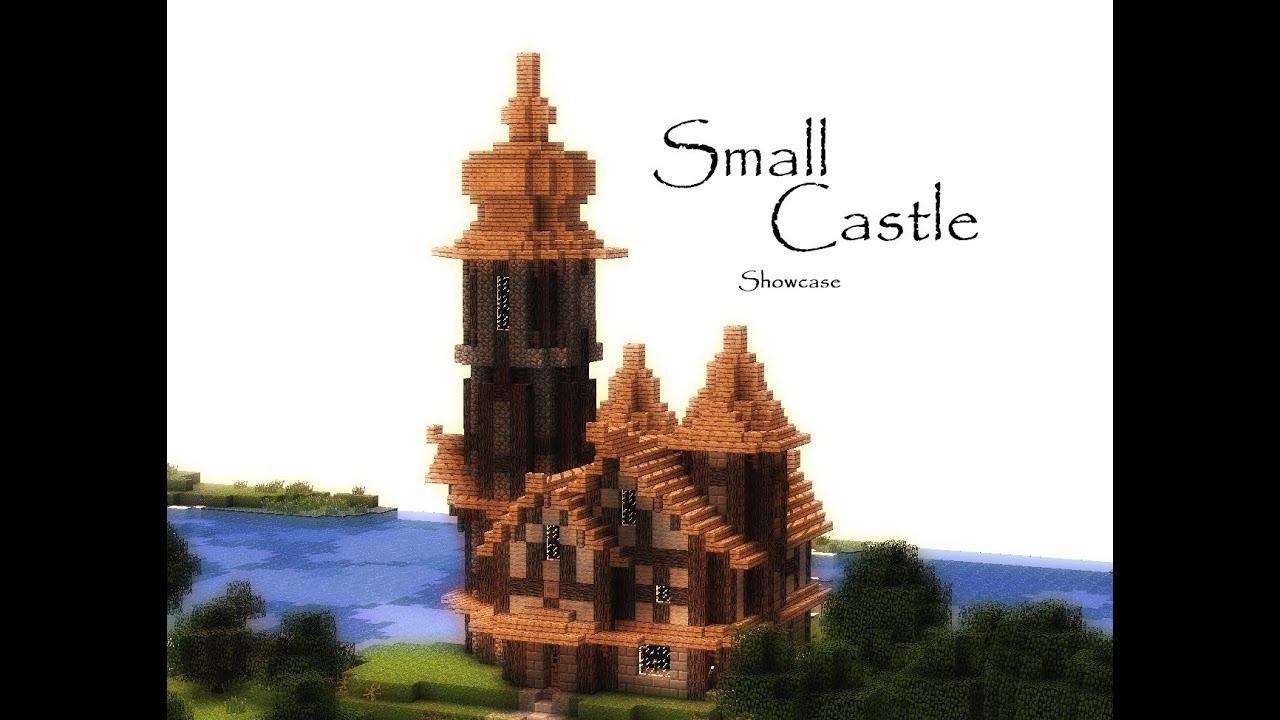 Minecraft Small Medieval Castle (Showcase)