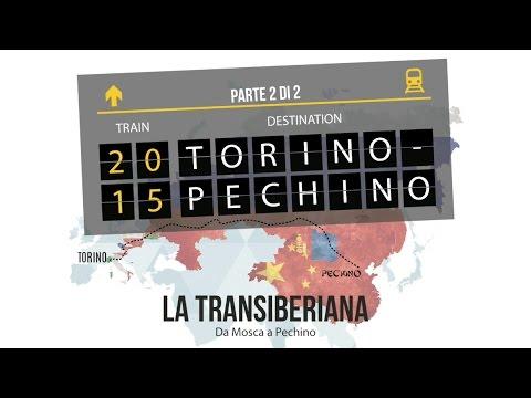 La Transiberiana - Da Mosca a Pechino in Treno [TORINO - PECHINO parte 2/2] - SUB ENG