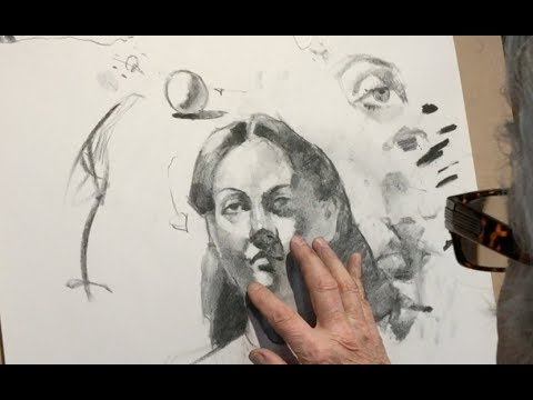 charcoal drawing portrait tips and techniques by steve carpenter
