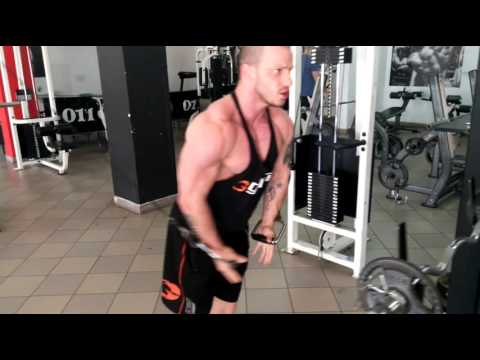Cross Cable workout Bodybuilding Motivation by Dalibor Dodic