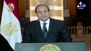 سلاح الجو المصري ينفذ ضربات على معسكرات لارهابيين في ليبيا