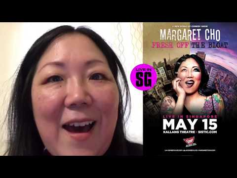 Margaret Cho Greeting - Singapore