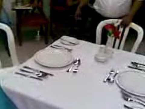 montaje de mesa YouTube