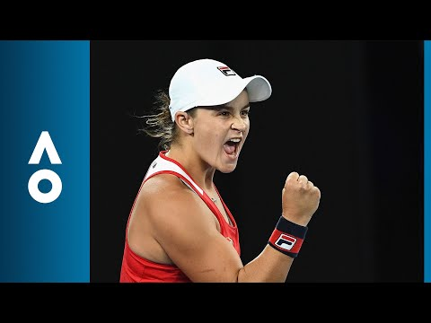 Ashleigh Barty v Aryna Sabalenka match highlights (1R) | Australian Open 2018