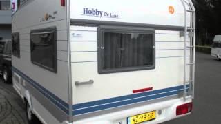 Caravan te koop: HOBBY DE LUXE 400 SF/SB  2000/2001