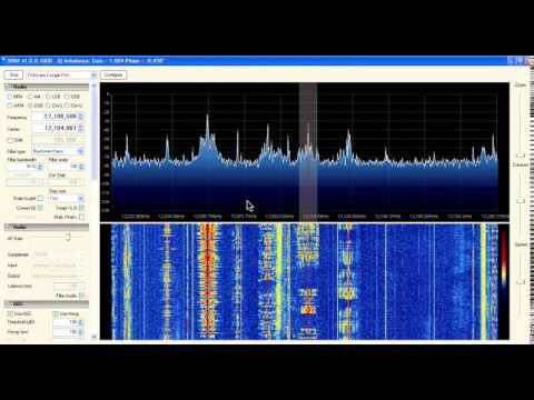 Radio Dialogue 12105 kHz received in London, UK
