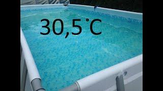 Ogrzewanie basenu , solary własnej roboty