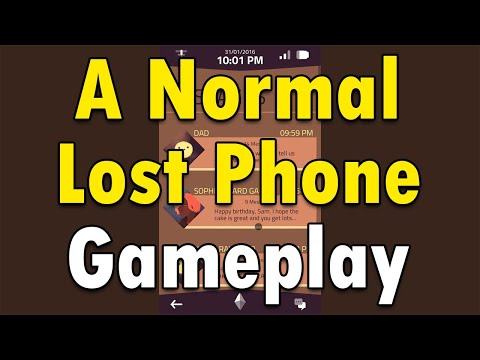 A Normal Lost Phone Gameplay |