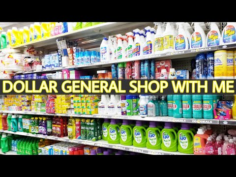 DOLLAR GENERAL SHOP WITH ME