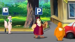 Азбука безопасности на дороге - Малыш в автомобиле (Уроки тетушки Совы) серия 11