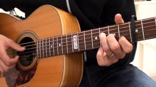 Jessi J -Flashlight guitar lesson - Tutorial - How to play on guitar - Rhythm and chords
