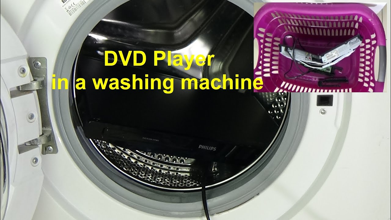 dvd washer