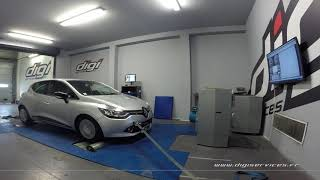 Renault Clio 4 1.5 dci 90cv Reprogrammation Moteur @ 117cv Digiservices Paris 77 Dyno