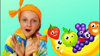 Let's play and learn fruits with the Tawaki Kids