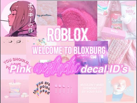 50 Bloxburg Pastel Aesthetic Decal Id Codes Wallpaper Youtube