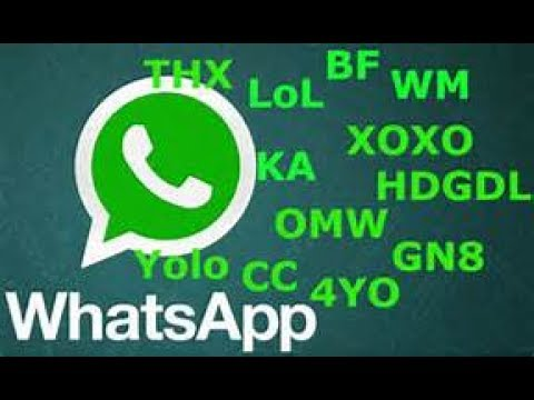 WhatsApp Abkürzungen Von Denen Du Nicht Weißt,was Sie Bedeuten!