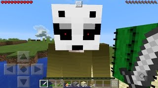 I FOUND LICK in Minecraft Pocket Edition! [Short Horror Film]