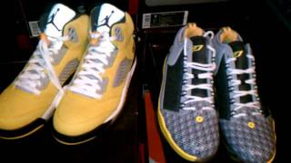 Air Jordan V Tokyo 23 and CP3 IV Tokyo Shoes by DJHES