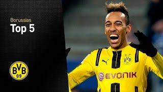 Top 5 Viererpacks: Pierre-Emerick Aubameyang | Hamburger SV - BVB 2:5