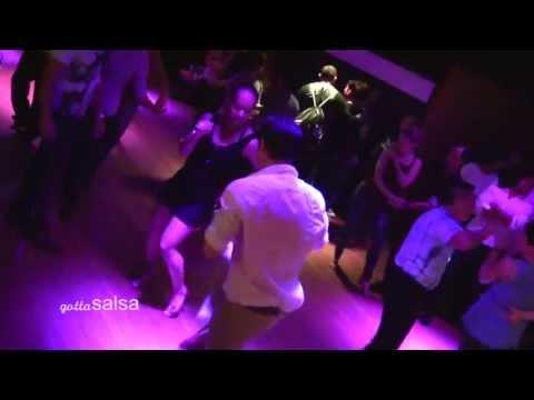 Salsa Social Dancing at Cafe Sevilla San Diego April 10, 2013