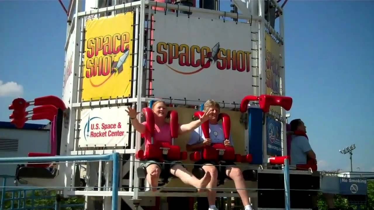 Space Shot - U.S. Space & Rocket Center - YouTube